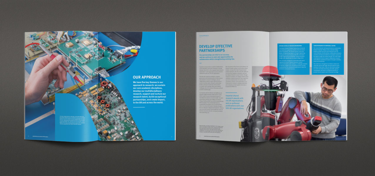 Imperial College London - Research Landscape publication to attract and retain partners and funders