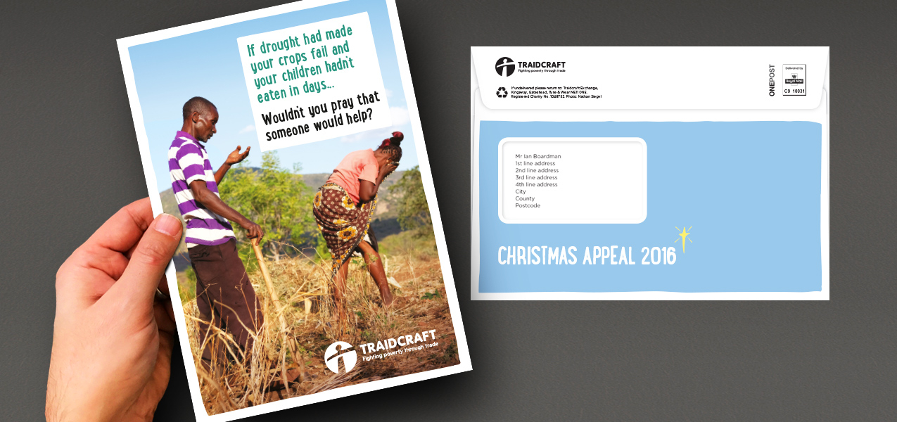 Traidcraft - Christmas supporter retention appeal
