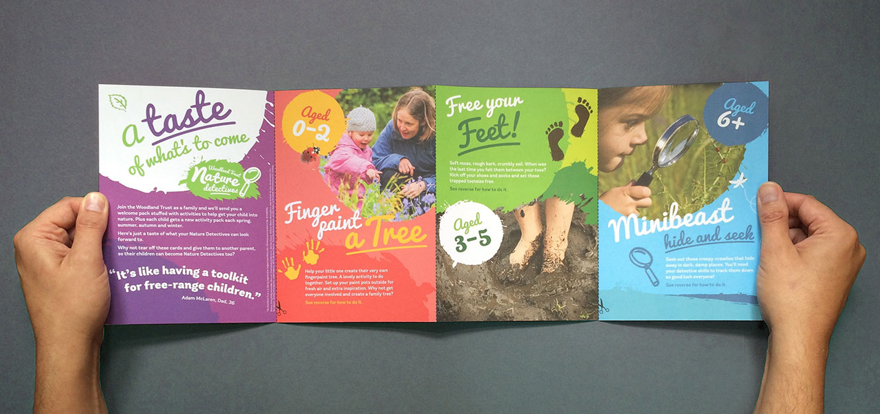 Woodland Trust - Family Membership Acquisition Direct Mail