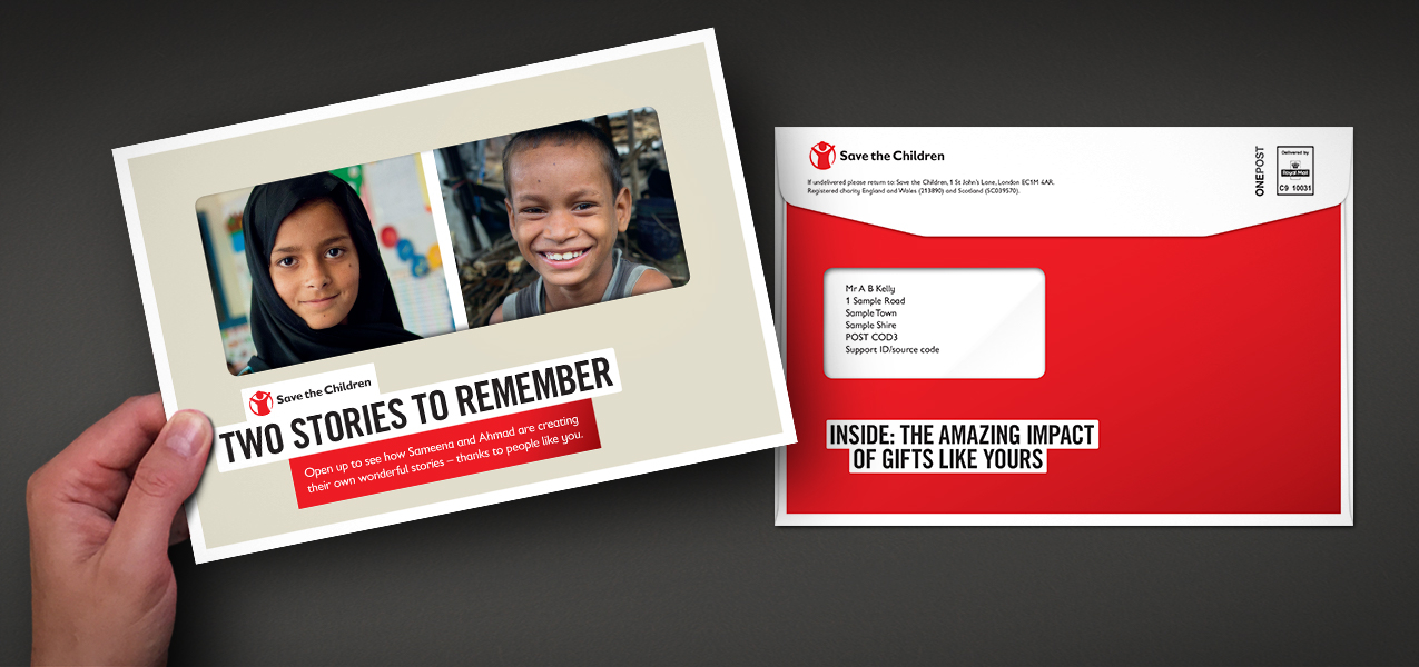 Save the Children - Legacy pledger stewardship experience