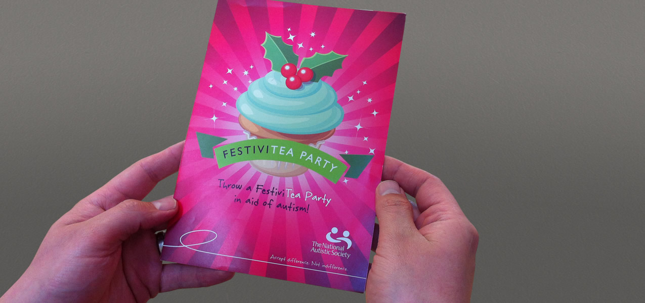 Festivitea marketing campaign for National Autistic Society