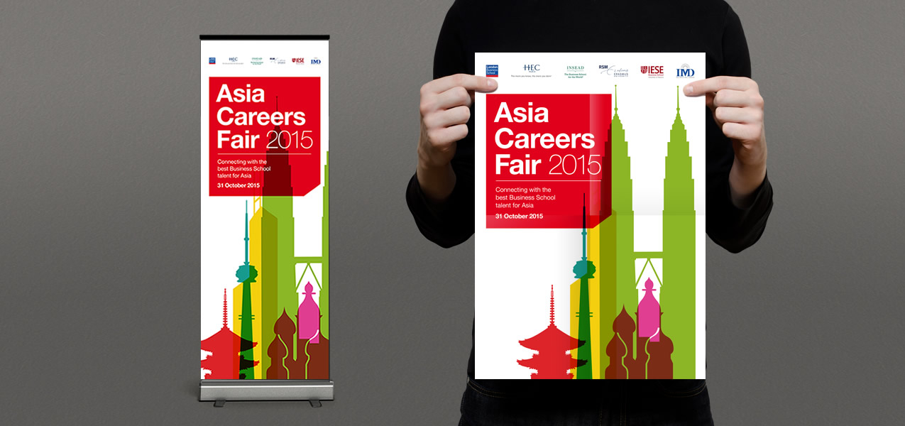 London Business School - Brand development for Asia Careers Fair