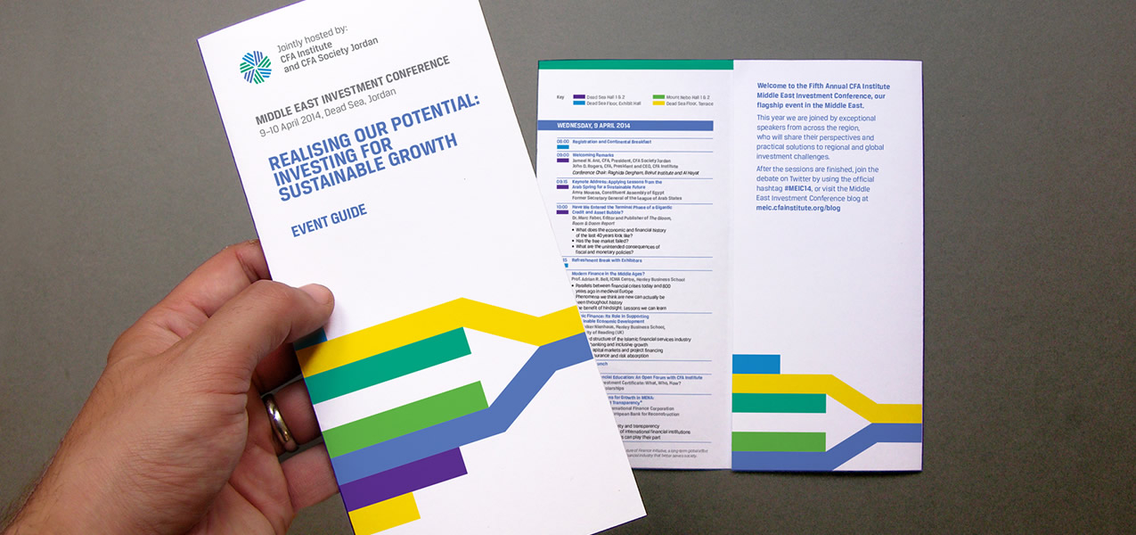 CFA Institute - MEIC 2014 Event Branding