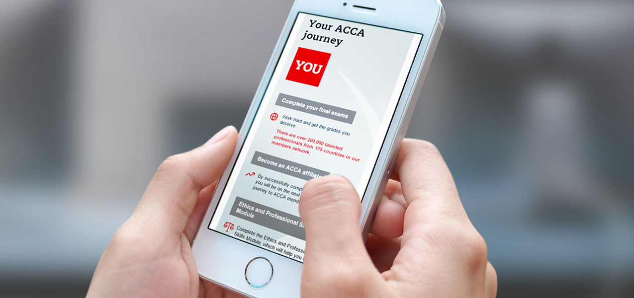 ACCA - Welcome and stewardship journey to membership