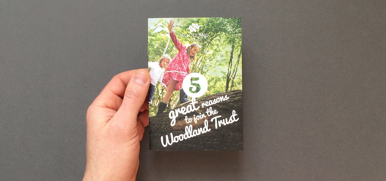 Woodland Trust - February 2015 Membership Acquisition Direct Mail