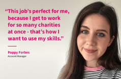 Meet Poppy, our fantastic new Account Manager