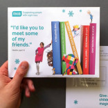 RNIB - Christmas 2014 Warm Direct Mail