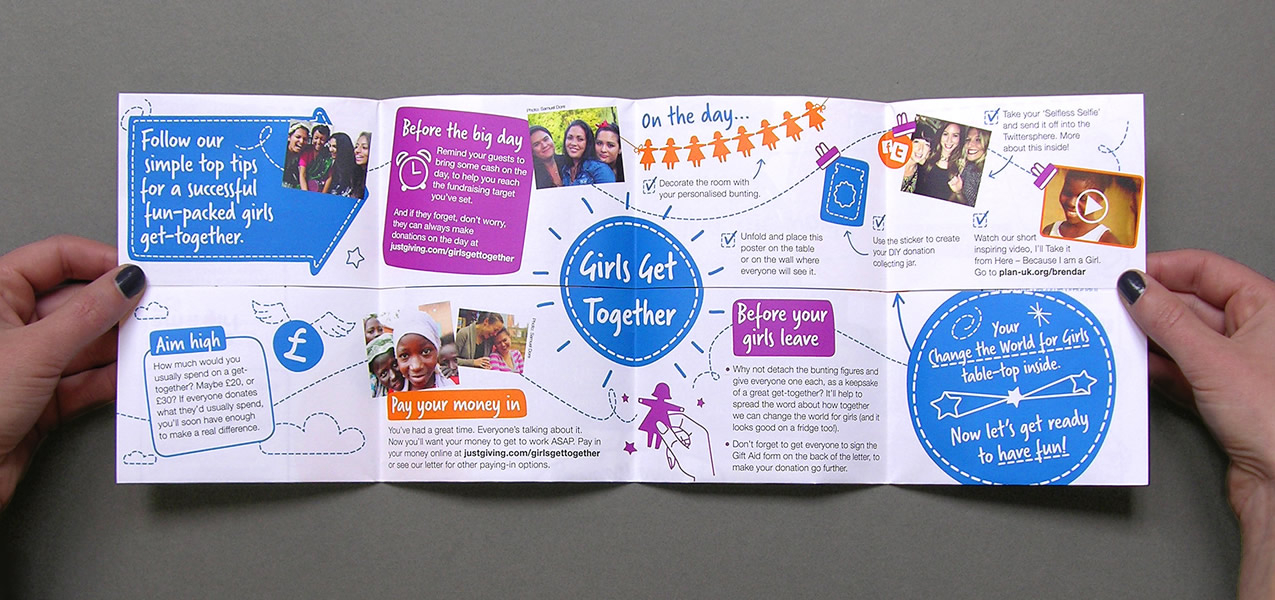 Plan International UK - Girls get Together - Community Fundraising