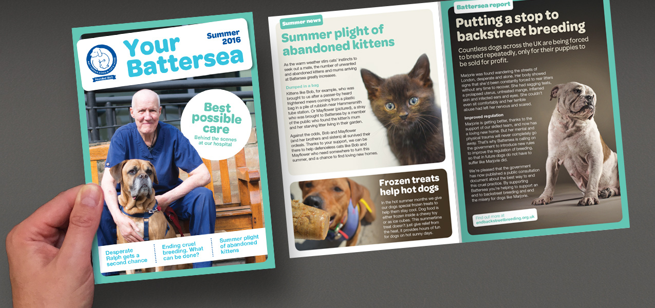Battersea Dogs & Cats Home - Donor feedback retention communication