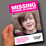 Missing People - Find Every Child Fundraising Campaign