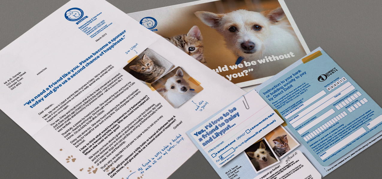 Battersea Dogs & Cats Home - Sponsorship pack