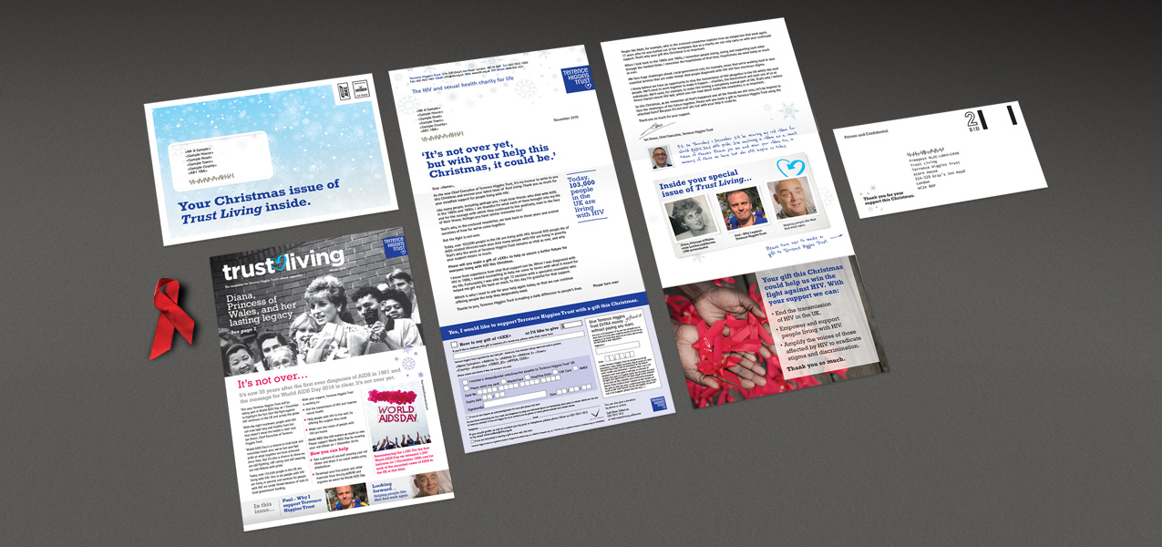 Terrence Higgins Trust - Supporter Retention Newsletter Mailings