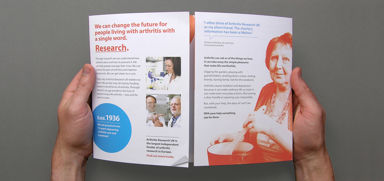 Arthritis Research UK - Legacy Campaign