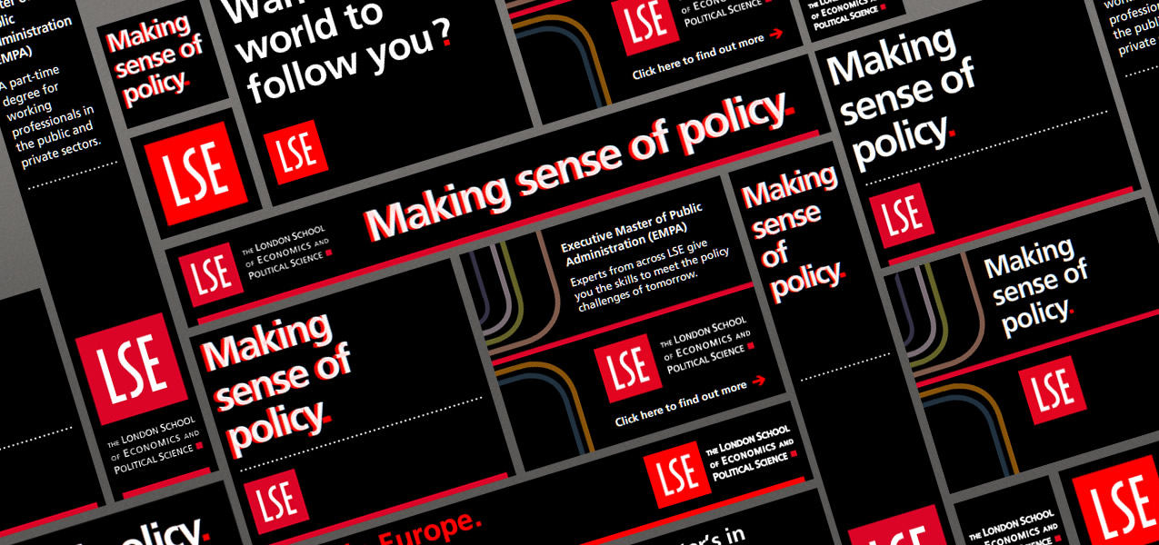 London School of Economics - Executive Master of Public Administration Advertising