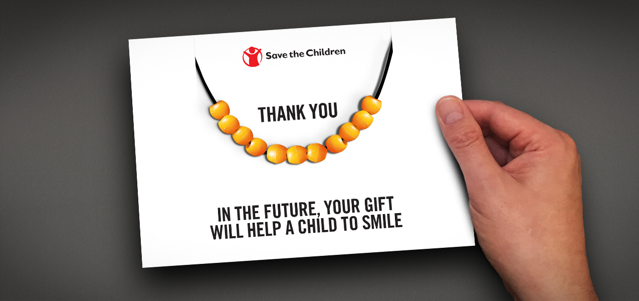 Save The Children - Legacy pledger thank you