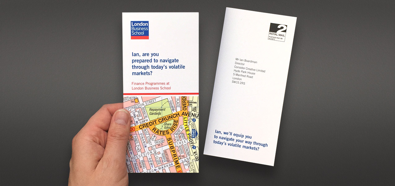 London Business School - Personalised direct mail
