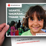 British Red Cross - Thank you for new cash supporters