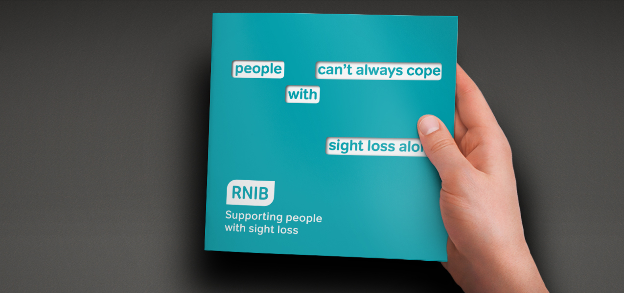 RNIB - Supporter Retention Appeal
