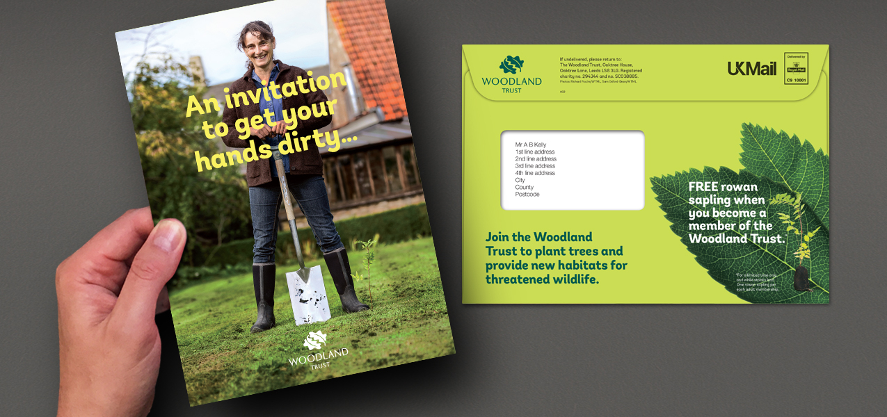 Woodland Trust - Membership acquisition direct mail