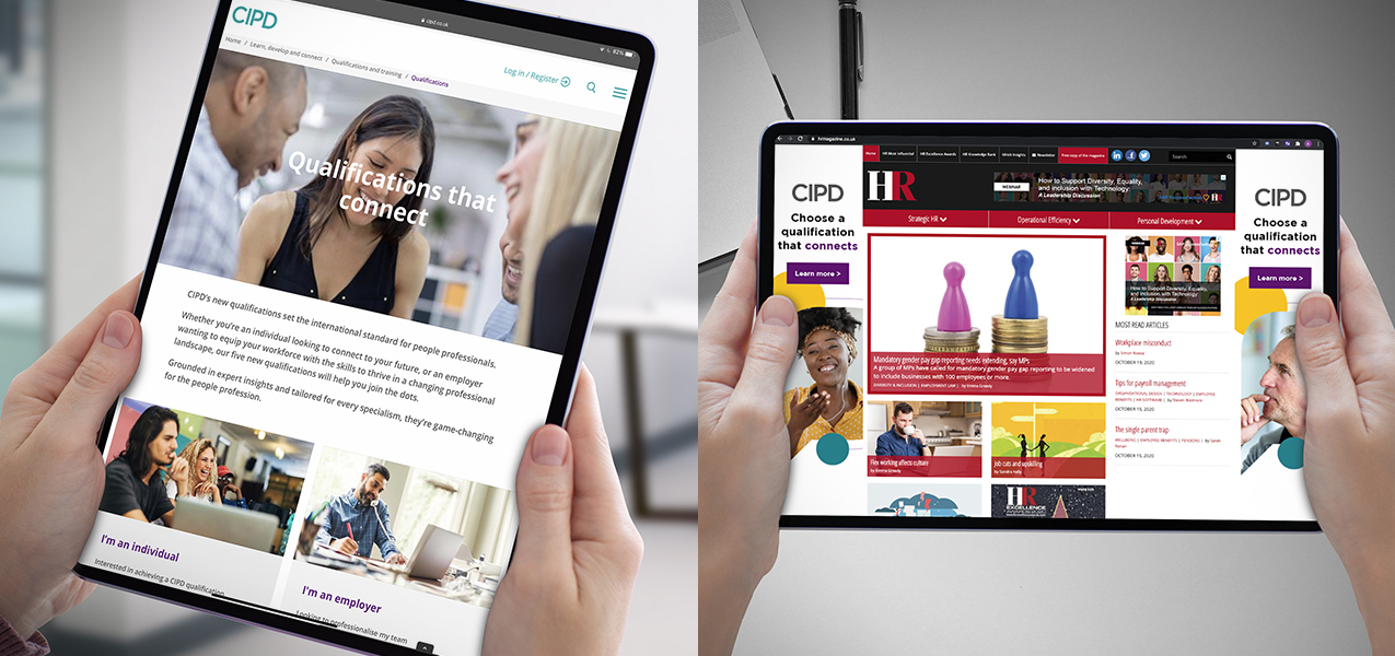 Chartered Institute of Personnel and Development - Creating an identity that connects