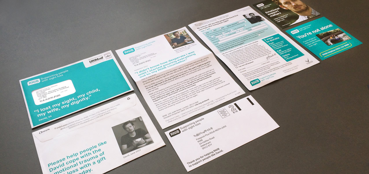 RNIB - September 2014 Warm Direct Mail