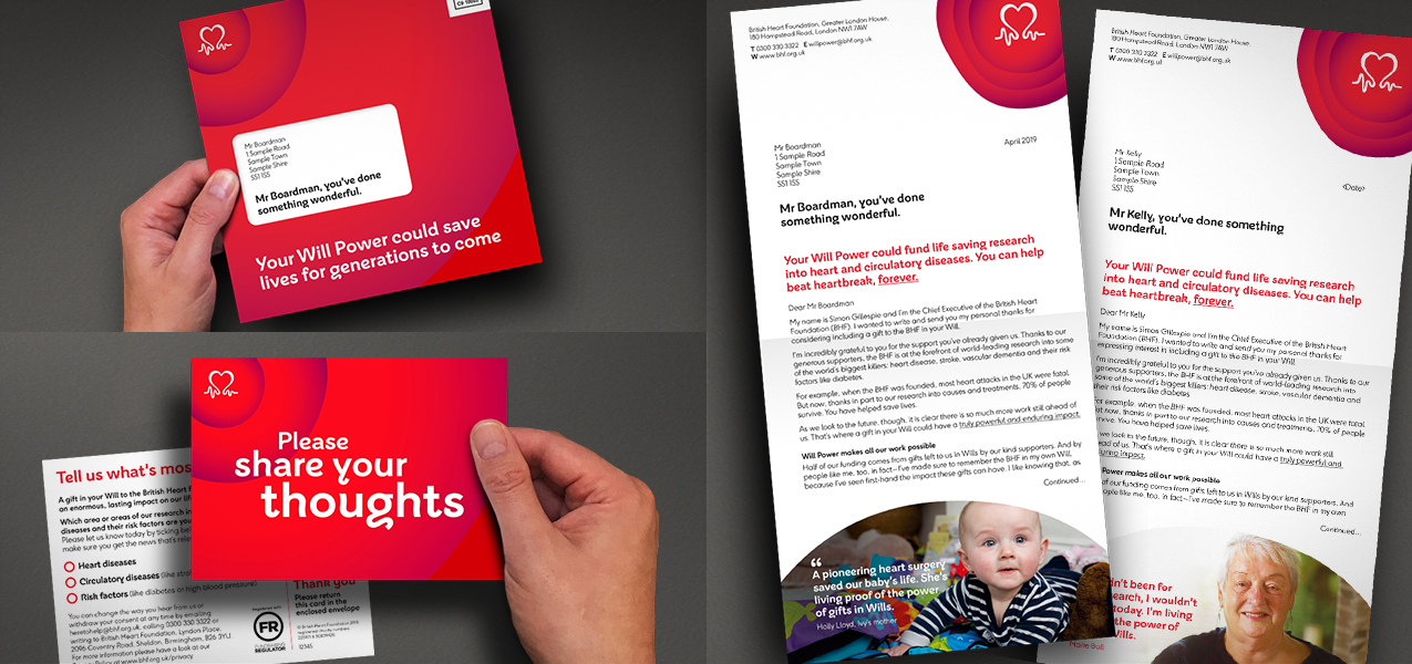 British Heart Foundation - The power of stories – An inspiring gifts in Wills journey