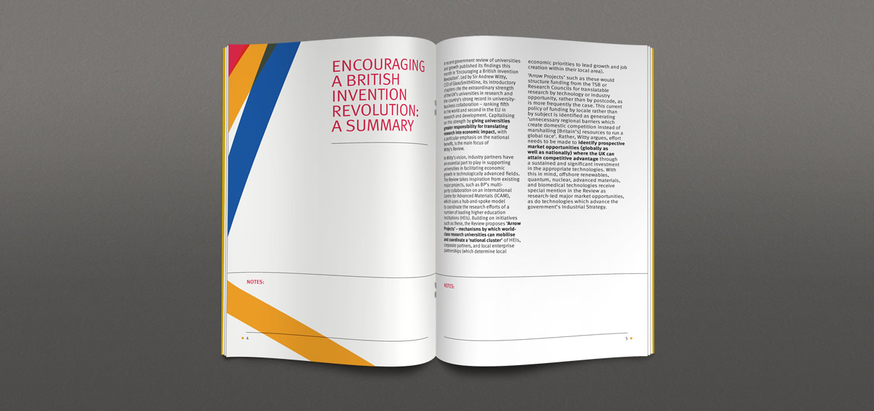Imperial College London - Imperial Business Partners branding and brochure