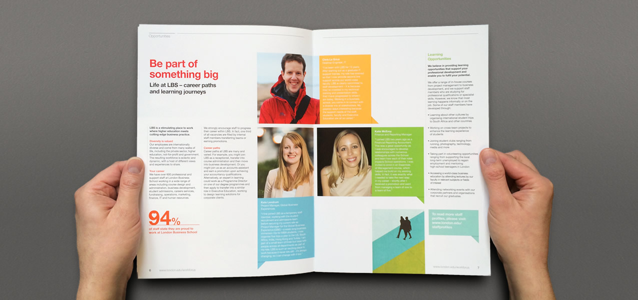 London Business School - Staff Brochure