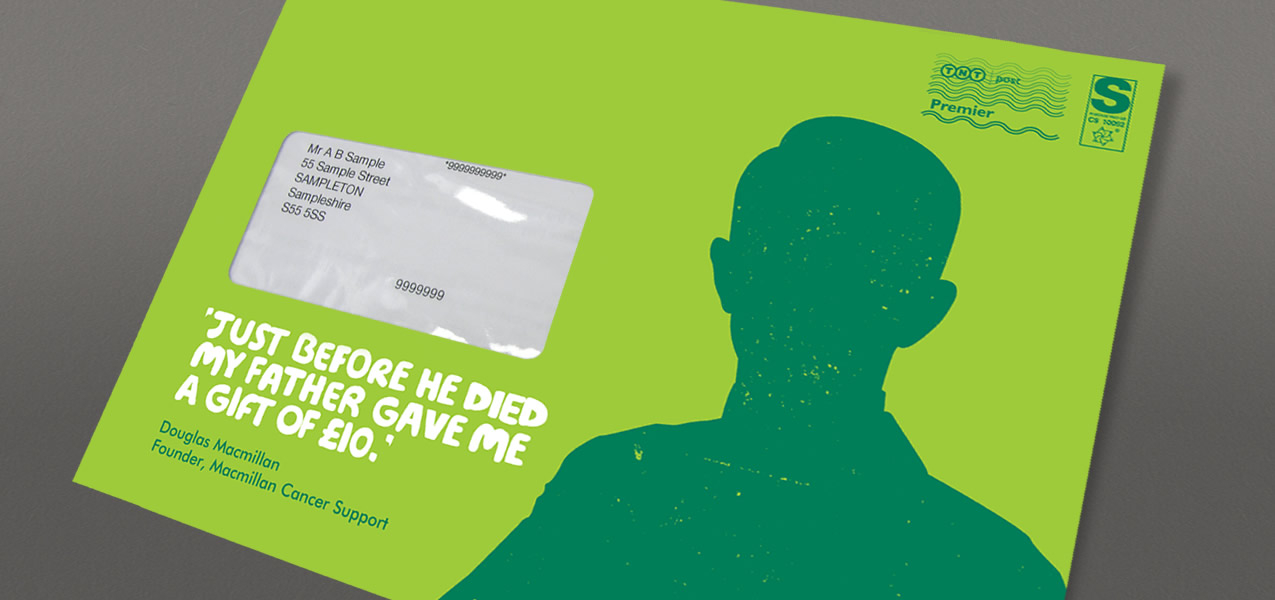 Macmillan Cancer Support - Cold Acquisition Direct Mail Campaign