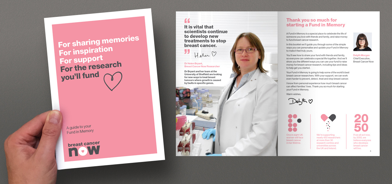 Breast Cancer Now - Personalising the supporter In-Memory experience