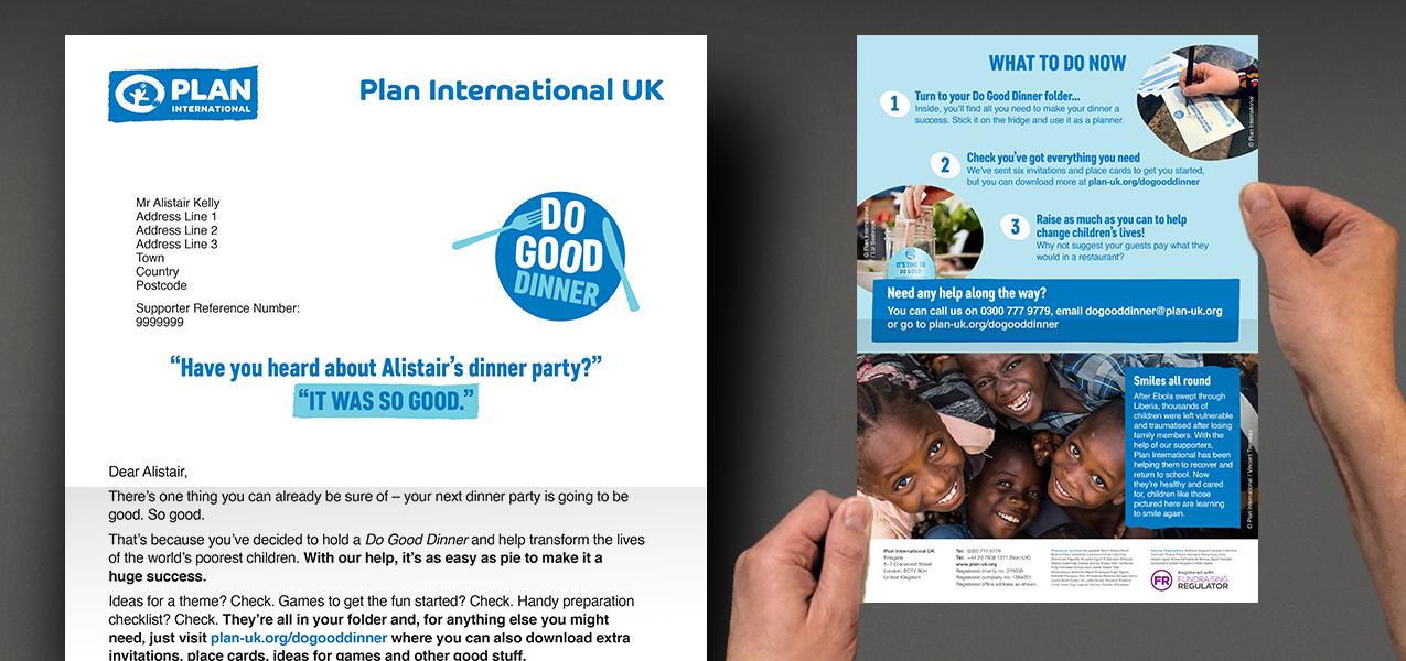 Plan International UK - Community Fundraising Product Creation