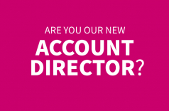 Are you our new account director?