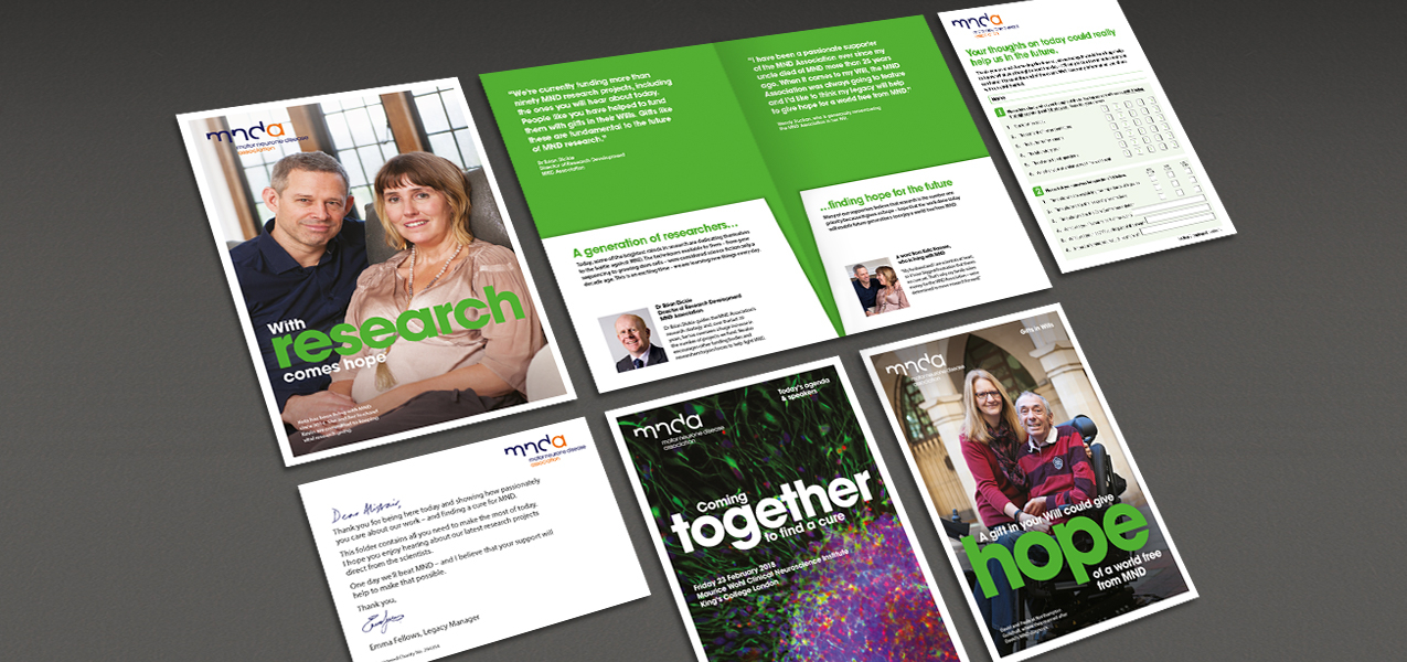Motor Neurone Disease Association - Legacy Event Delegate Pack