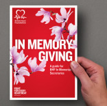British Heart Foundation - In Memory secretary volunteer handbook