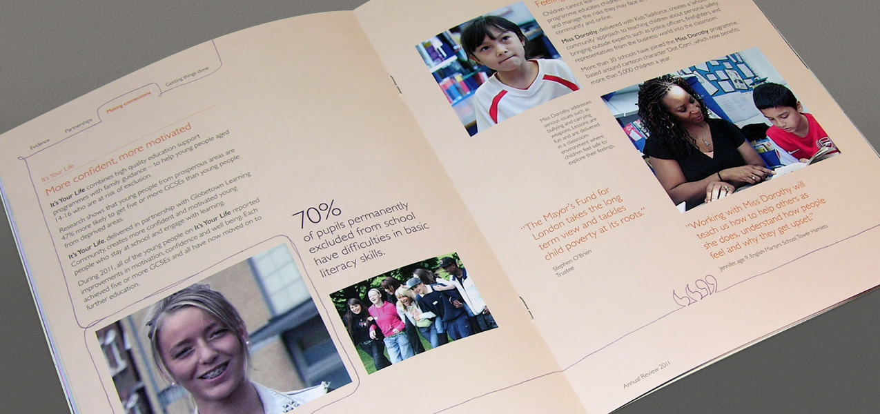 Mayor's Fund for London - Annual review