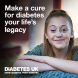 Diabetes UK - A fresh start for gifts in Wills