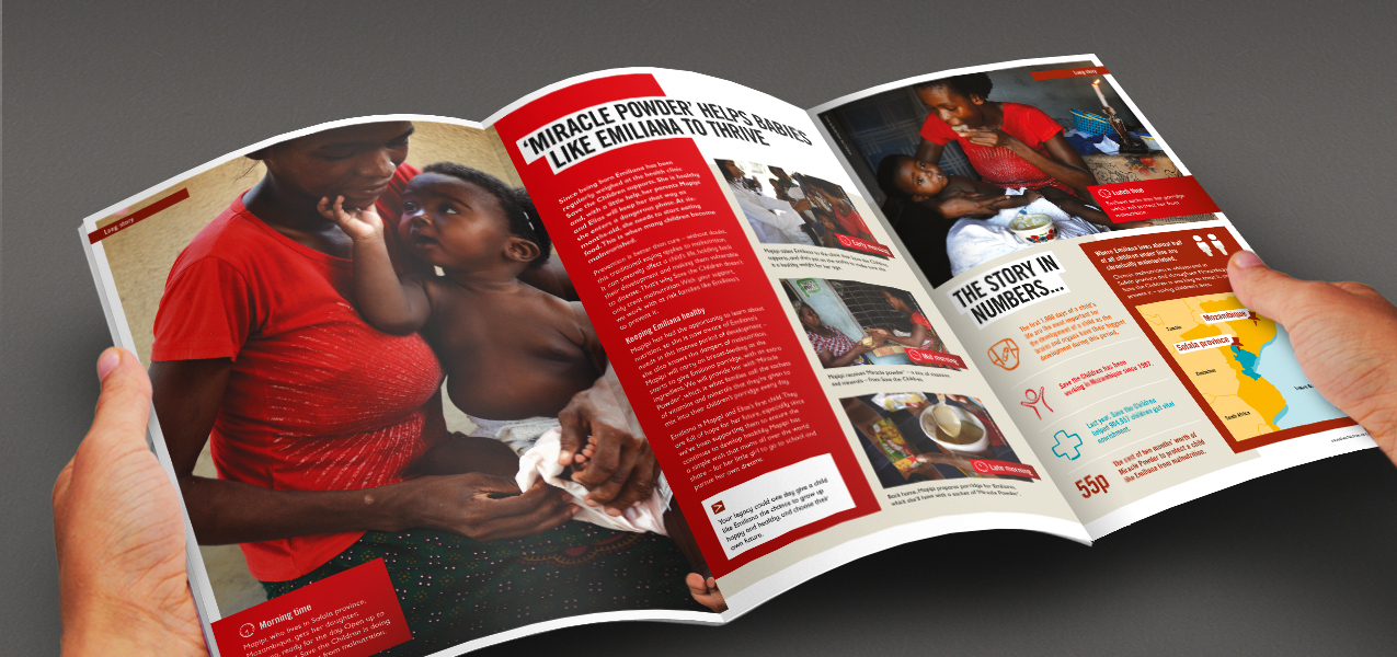 Save the Children - Legacy pledger stewardship magazine