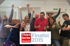 Consider shortlisted for 2015 Third Sector Award