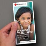 British Red Cross - New Year Legacy Mailing