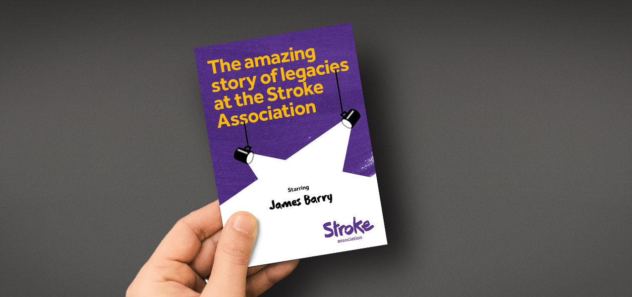 Stroke Association - Helping teams at Stroke Association to talk legacies