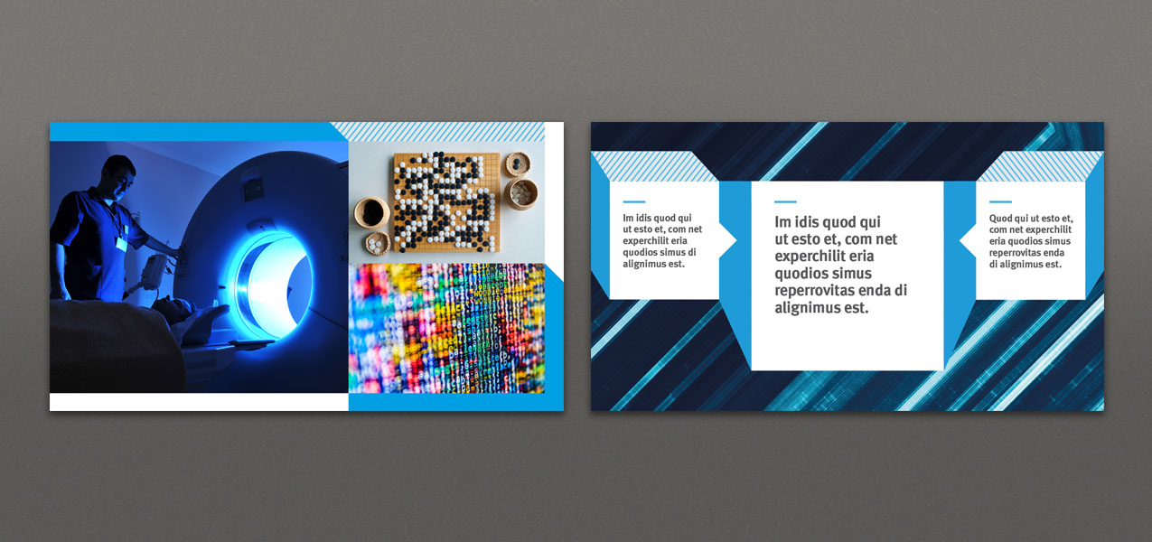 Imperial College London - Slide design for World Economic Forum