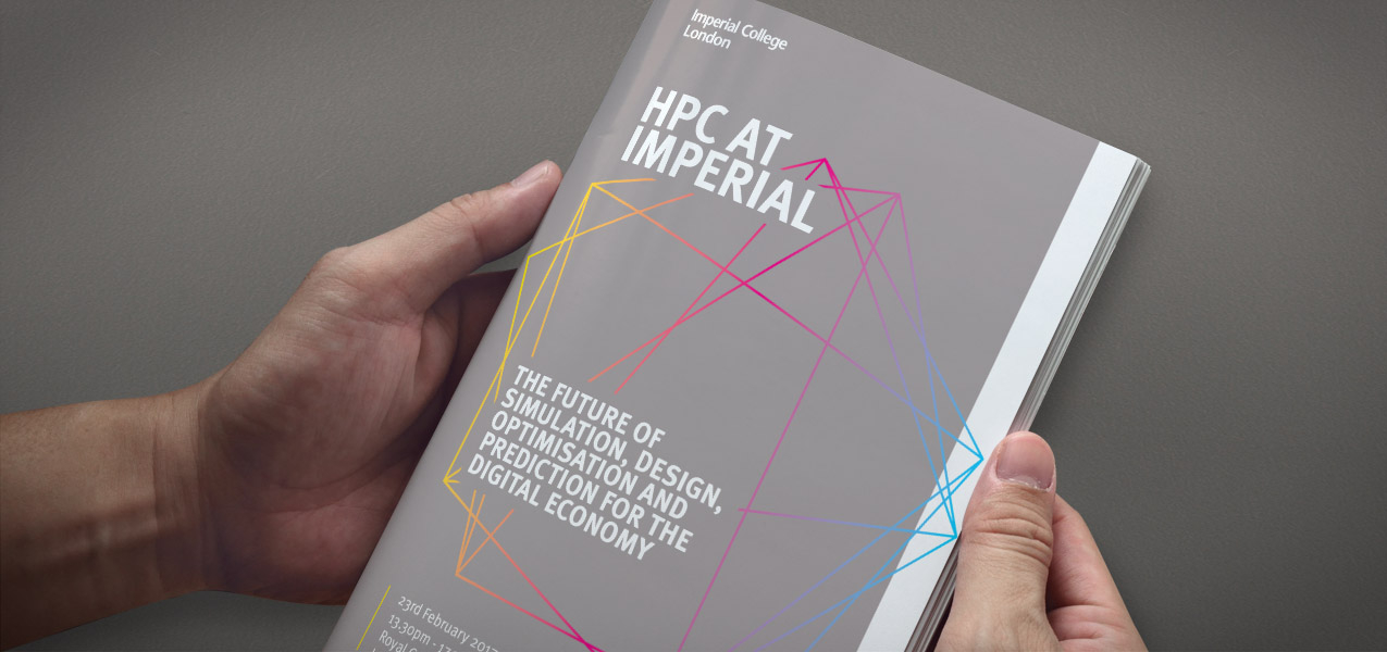Imperial College London - HPC at Imperial event branding