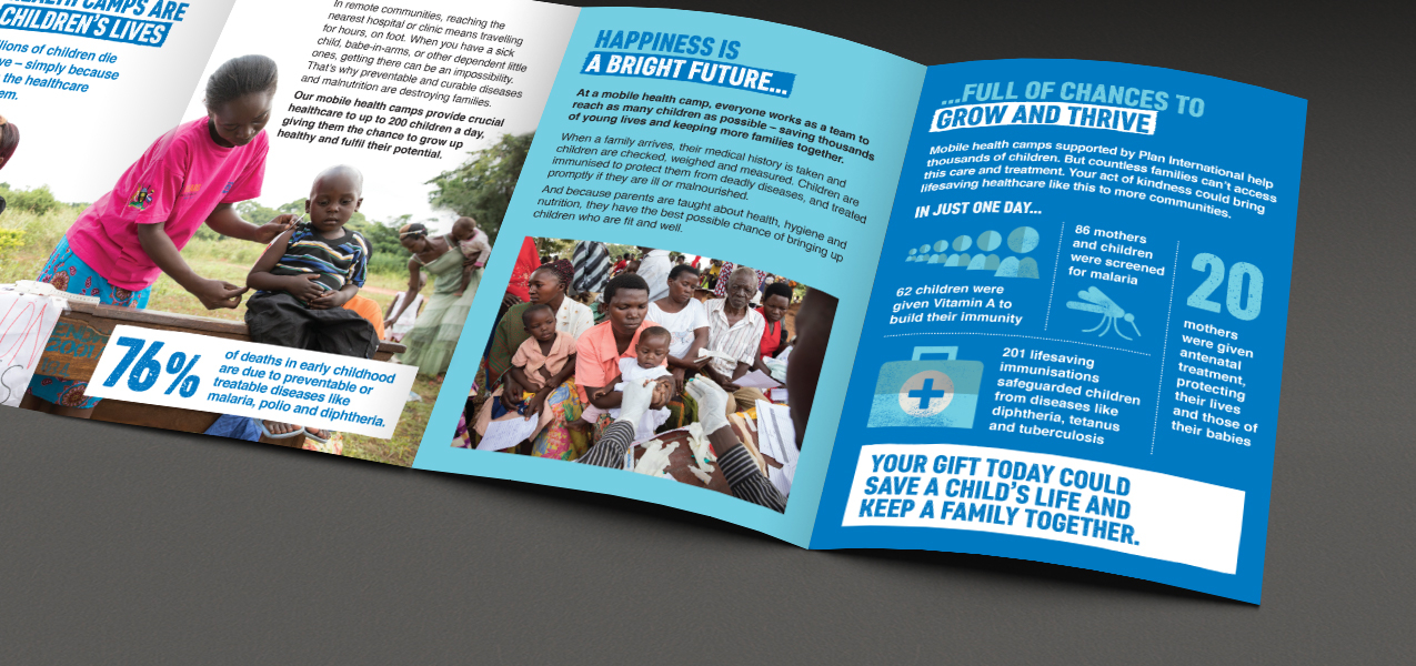 Plan International UK - Supporter Retention & Engagement Cash Appeal