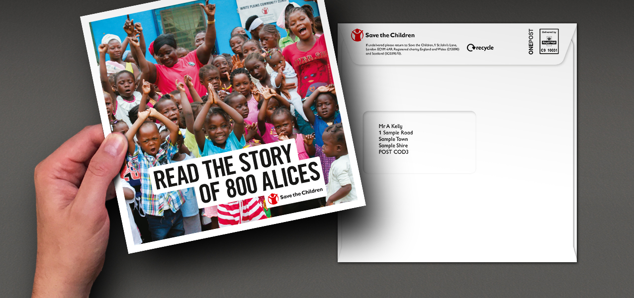Save the Children - Inspiring supporters with a legacy message