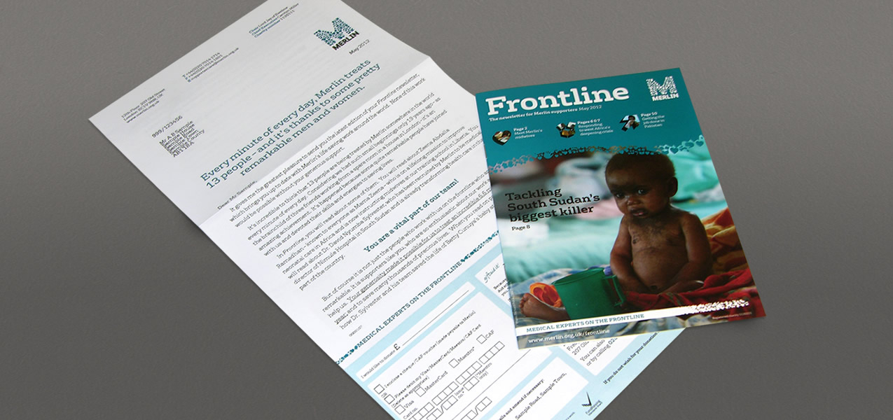 - Frontline Newsletter retention direct mail