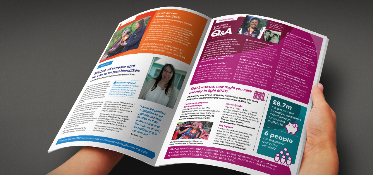 Motor Neurone Disease Association - Supporter Retention Newsletter