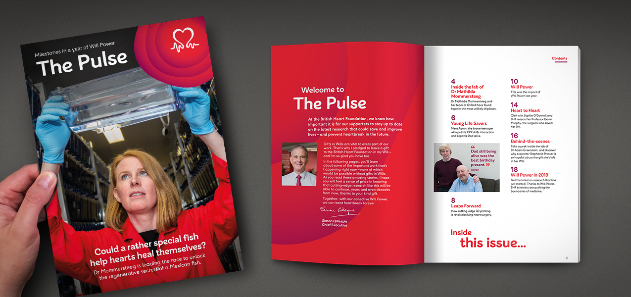 British Heart Foundation - Legacy pledger stewardship