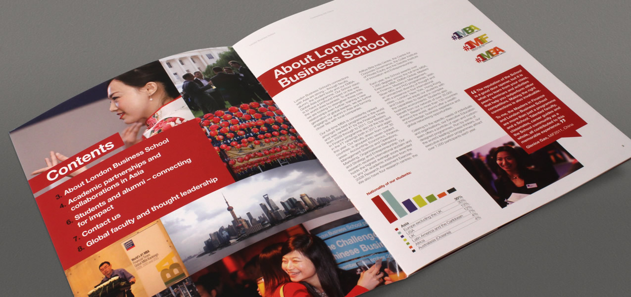 London Business School - Connecting with China brochure