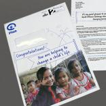 Plan International UK - Child Sponsorship Welcome Pack
