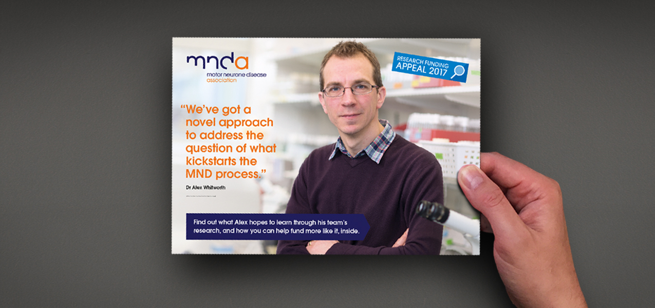 Motor Neurone Disease Association - Supporter Retention & Engagement Appeal